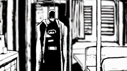 Batman Black and White - Ted McKeever | illustrative in 2019 | Dc