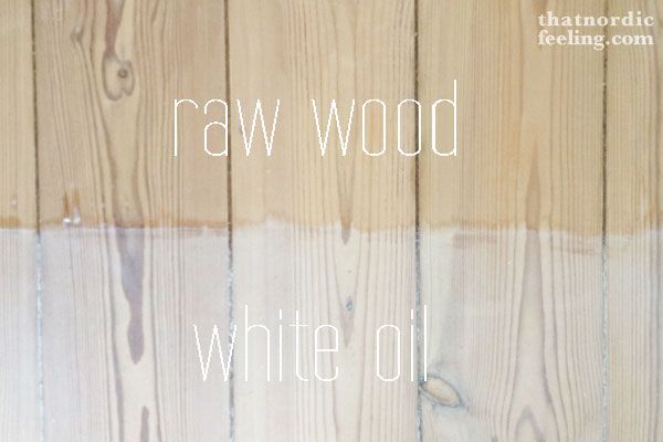 How To Stain White Wood