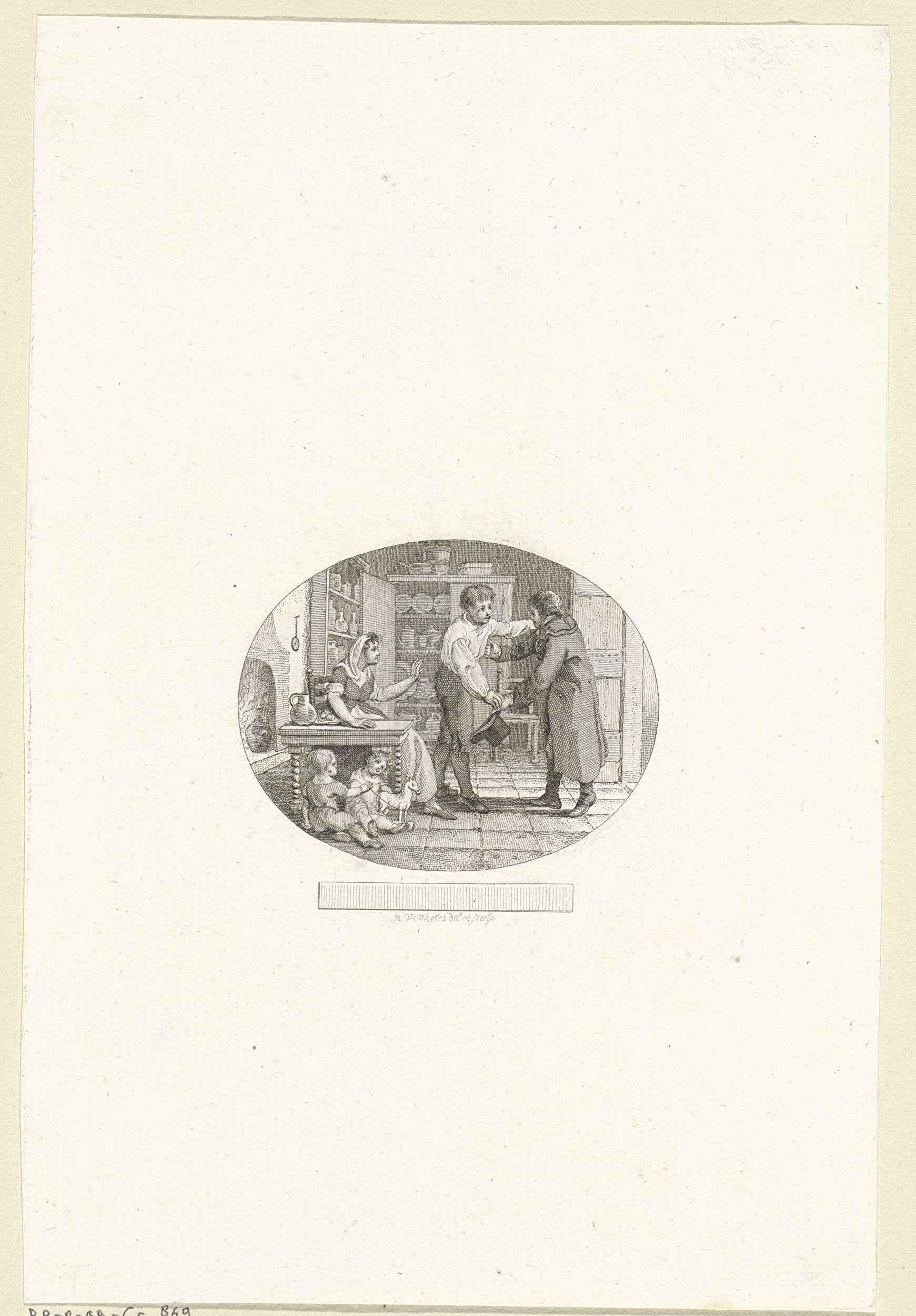 Reinier Vinkeles | Titelpagina voor: J.G. Muller, 'Ferdinand', 1805, Reinier Vinkeles, 1805 |