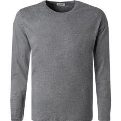 Photo of American Vintage men's long-sleeved shirt, cotton, heather gray American Vintage
