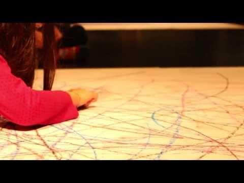 Laboratório de dança-desenho para crianças de 6 anos