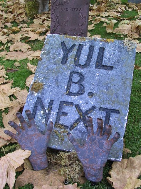 Old, cheap  simple message hehehe strange stuff Pinterest - halloween decoration rentals