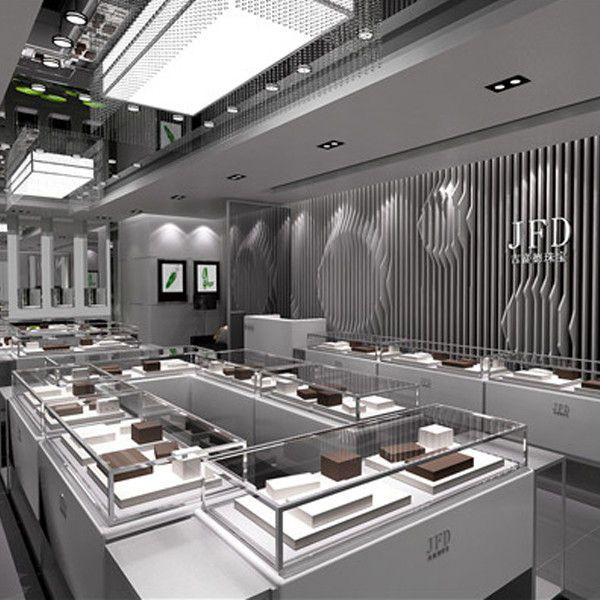 Shop Display Cabinet jewellery shop