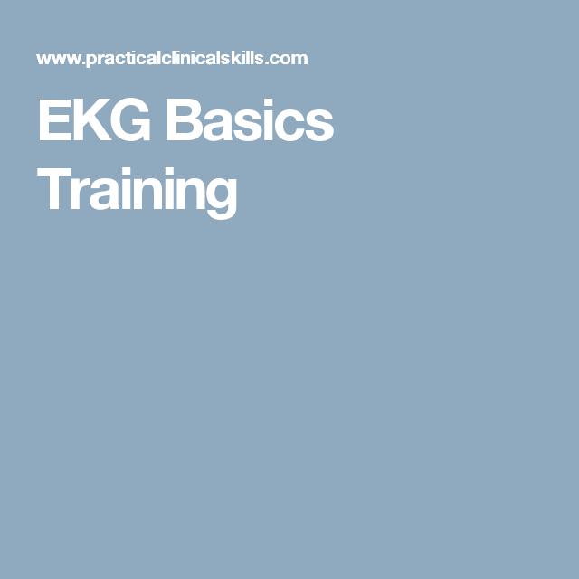 EKG Basics Training