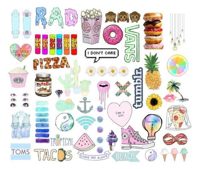 Tumblr Transparent Collage Emoji Art Collage Background Tumblr Transparents
