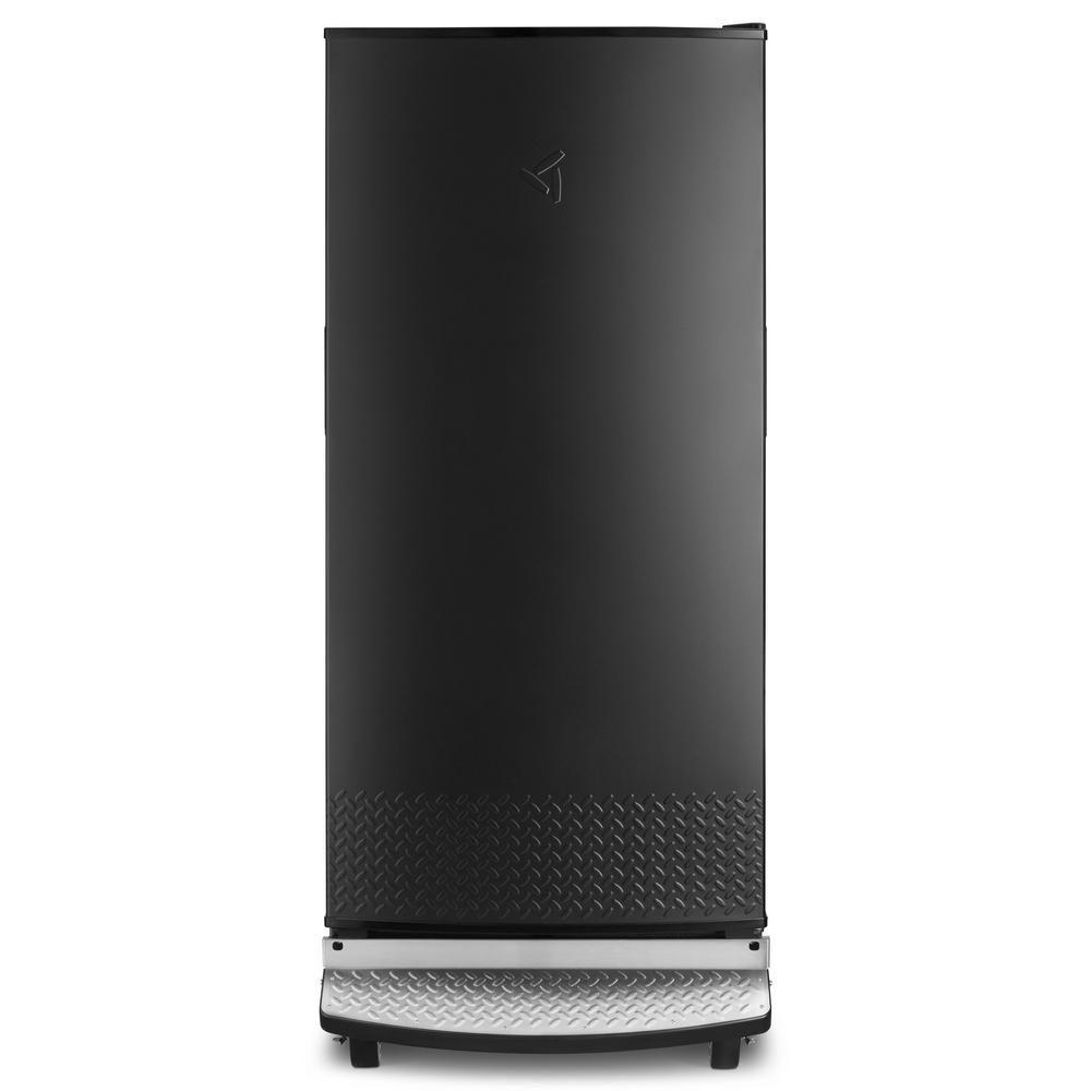 Gladiator 17 8 Cu Ft Upright Rolling Garage Freezer In Black Gafz30fdgb Upright Freezer Freezerless Refrigerator All Refrigerator