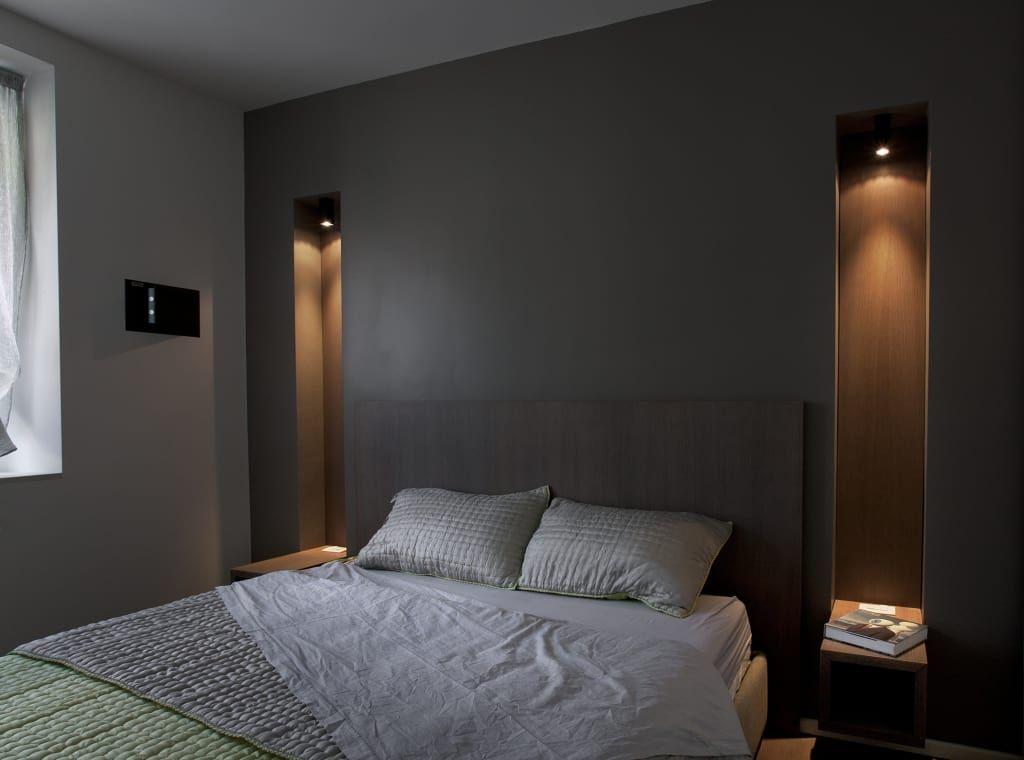 Abitazione con terrazzo milano camera da letto in stile di luca bianchi architetto in 2019 - Camera da letto milano ...