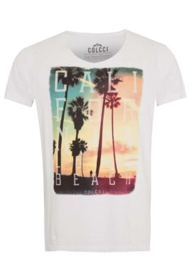 2ae88e793 Camiseta Colcci Slim Branca - Compre Agora | Dafiti Urbaner Stil, Urbane  Mode, Blockdruck