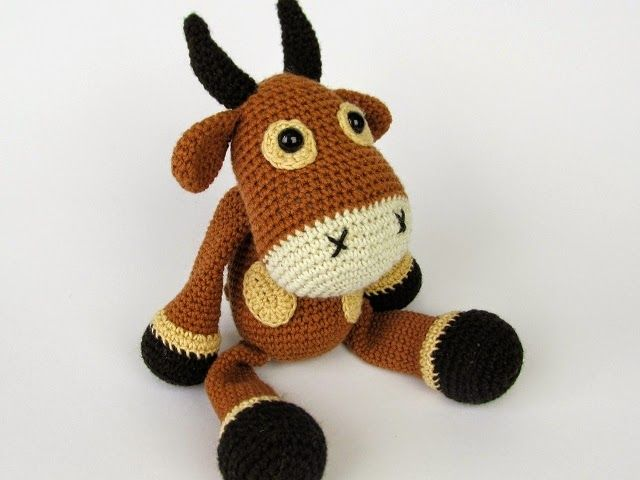 Amigurumi Crochet Pattern - Gordy the Goat | Crochet patterns ... | 480x640
