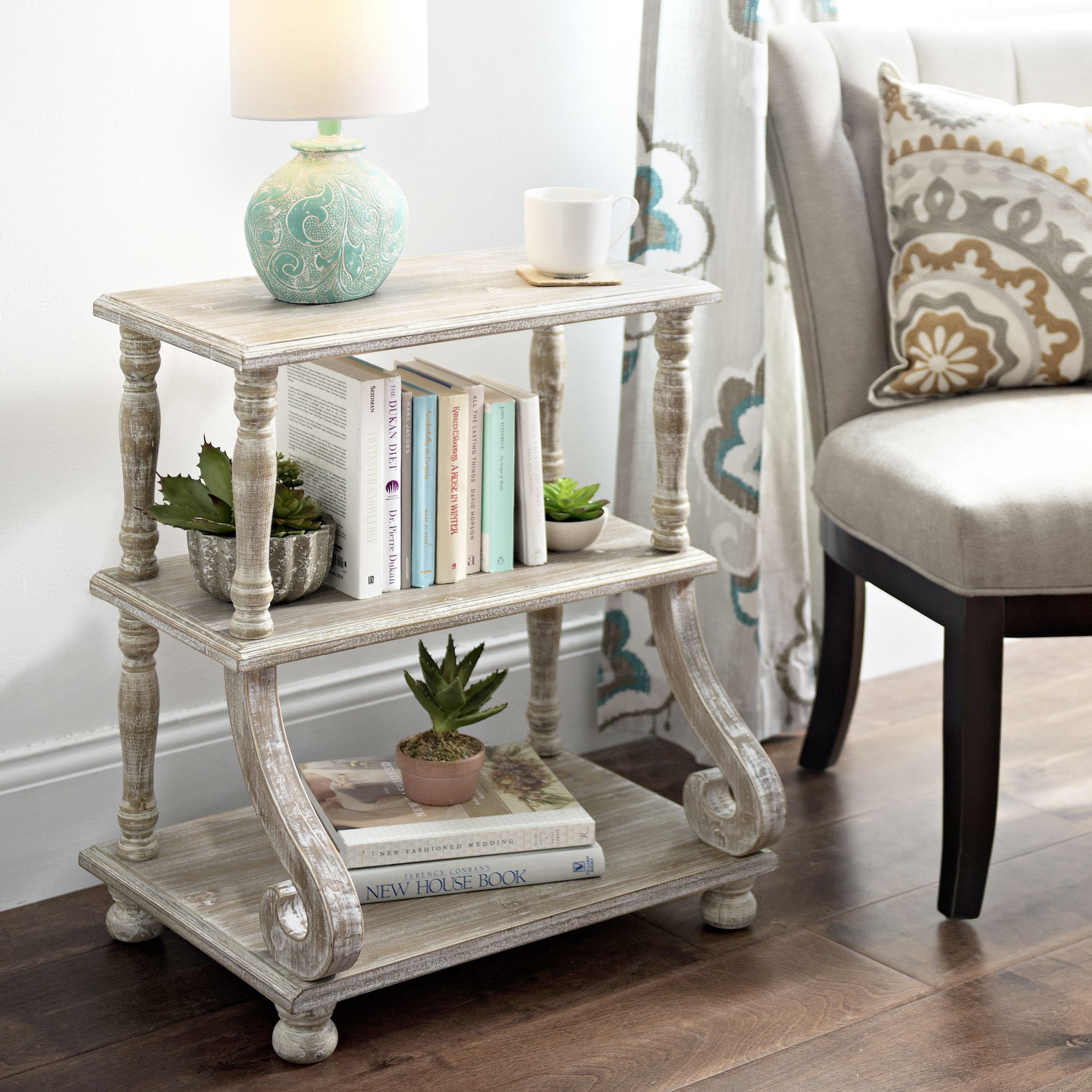 Cheyenne Scroll 3-Tier Shelf | Pinterest