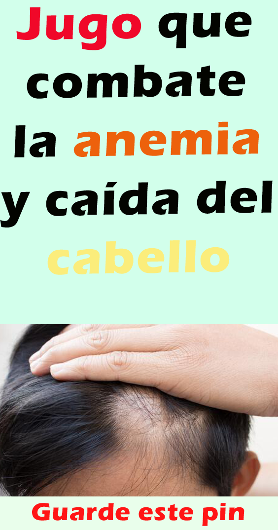 anemia+caida+del+pelo