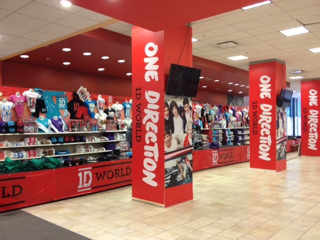 1d World In Nyc One Direction Store One Direction News One Direction