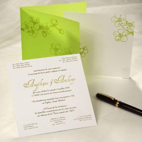 1000 images about faire part de mariage original on pinterest rouge search and bonheur - Faires Parts Mariage