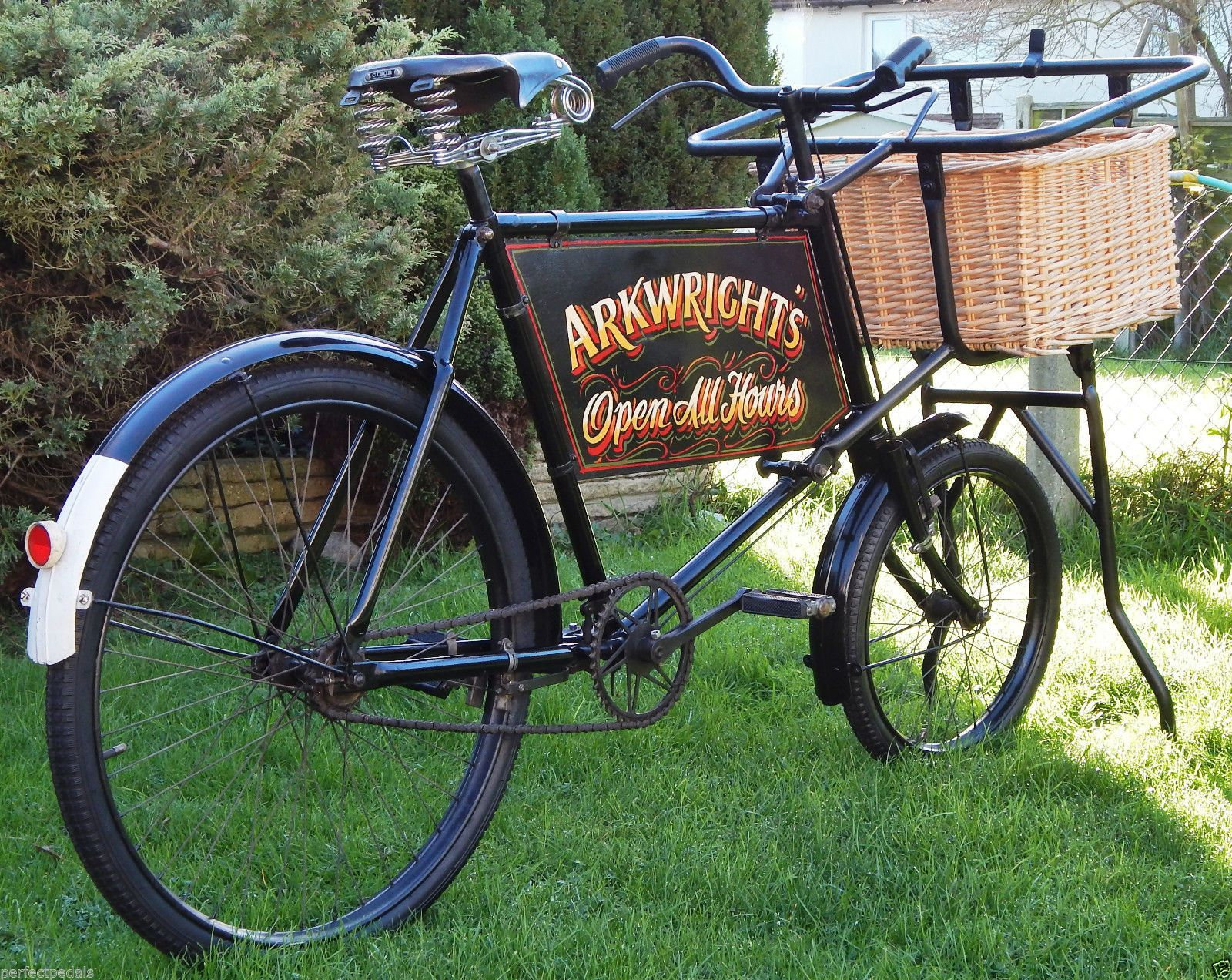 Vintage 1930s Phillips Butcher Bakers Delivery Trade Bike Bmx Bikes Bike Bike Brands
