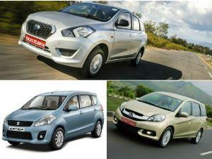 Datsun Go Vs Maruti Ertiga Vs Honda Mobilio Spec Comparison Page