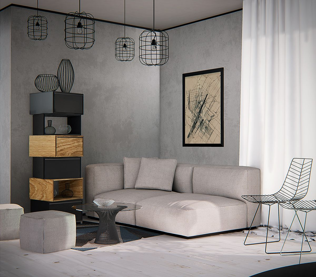 Interior Render With Unreal Engine 4 On Behance Interior Interior Design Interior Rendering