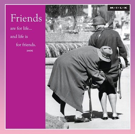 Pictures of old lady friends