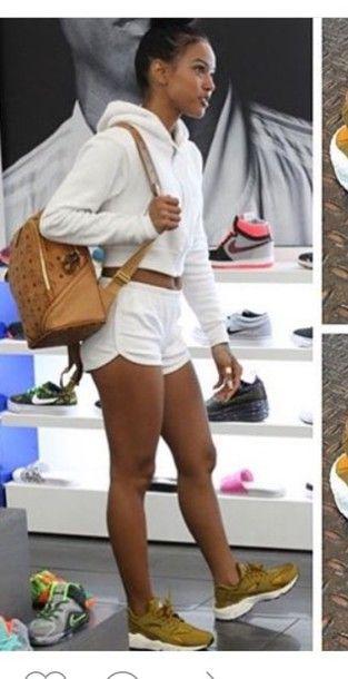 nike air huarache with shorts