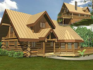 Phenomenal Log Homes Canada Offers In The Garden Log Home Plan For Download Free Architecture Designs Estepponolmadebymaigaardcom