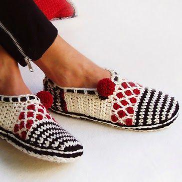 Warme Sloffen Haken Met Gratis Patroon Sloffen Haken Crochet