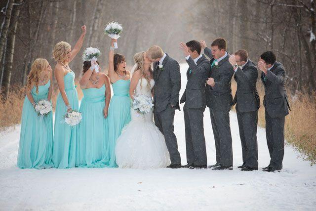 Tiffany Blue Winter Wedding   Gute Fotos, Fotobooth und Fotos