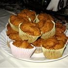 2 ingredient pumpkin muffins (can add spices if you'd like) or just use spice cake mix