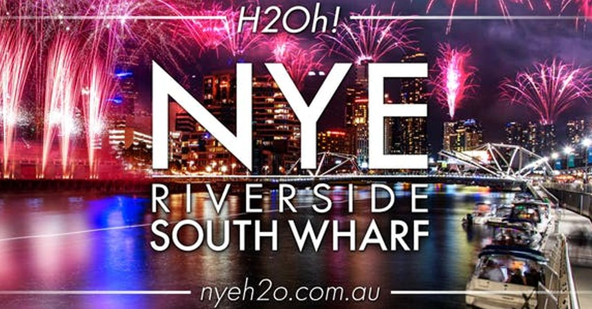New Years Eve Melbourne H2oh! Riverside South Wharf