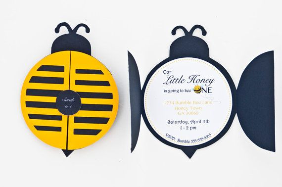 Set of 12 bumble bee party invitation bumble bee 1st birthday set of 12 bumble bee party invitation bumble bee 1st birthday party bumble bee invitation c008 filmwisefo Images