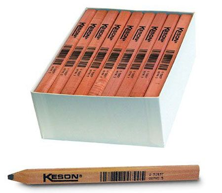 Carpenter Pencils Sharpened With A Blade Carpenters Pencil Marking Tools Home Improvement