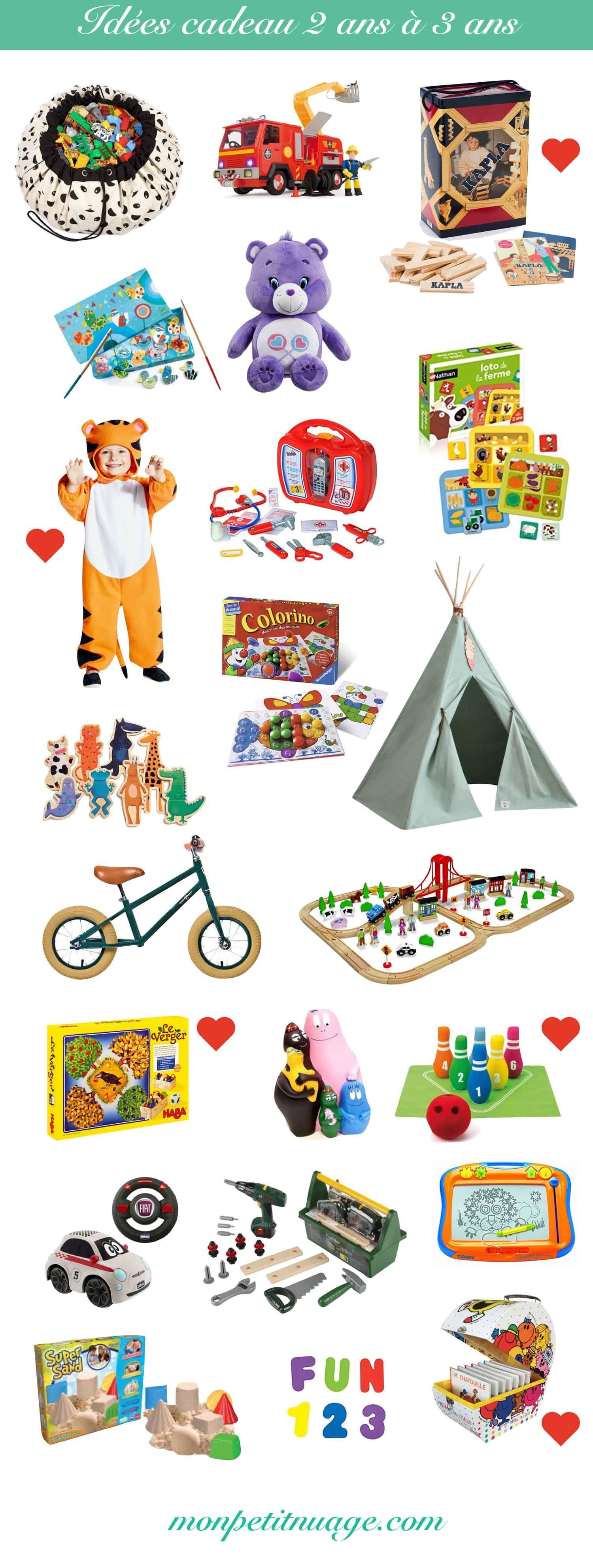 Idées Cadeaux Bébé Enfant 6 Mois 1 An 2 Ans 3 Ans