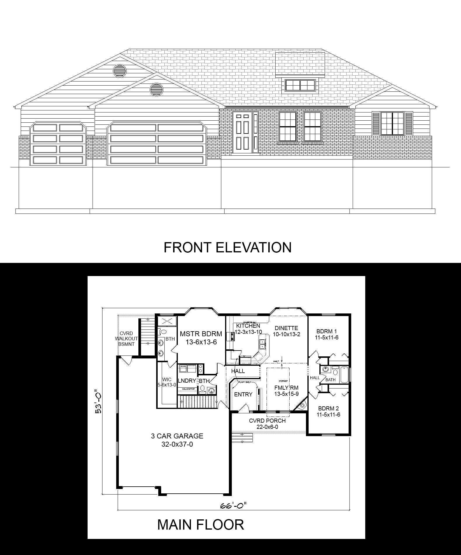 Nice R 1656 Pdf. Story HouseHouse PlansBasementGarage