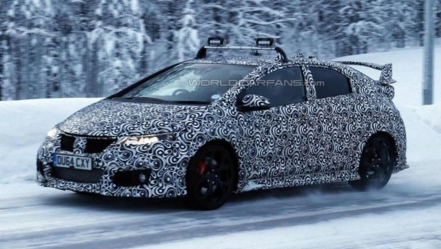 The New Honda Civic Type R A Top Speed Of 270km H Equipped With A 2 0l Vtec Turbo Engine The Maximum Output Horsep Honda Civic Type R New Honda Honda Civic