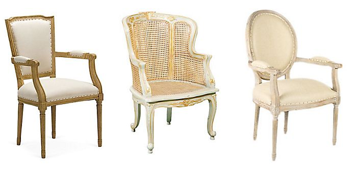 Louis XVI Style Chairs Louis Seize Dining Chairs and Armchairs