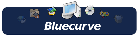 Bluecurve Icons Www Gnome Look Org Icon Linux Old Things