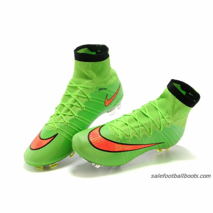 Nike Mercurial Superfly FG Green Red 10999