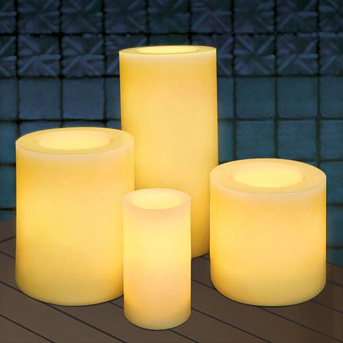 Outdoor Flameless Candles Impressive Battery Operated Candles  Candlelight  Pinterest  Flameless Design Inspiration