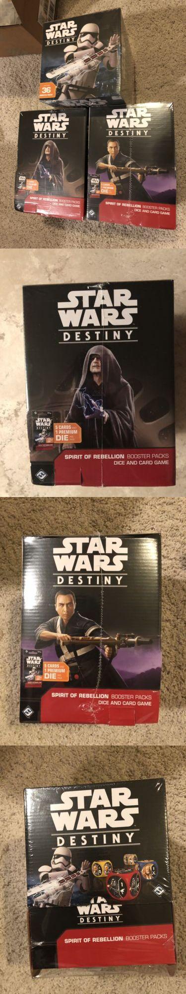 Star wars Destiny Spirit of Rebellion Booster Display New /& Sealed 36 Packs