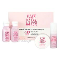 Etude House Pink Vital Water Speacial Trial Kit 4pcs Rinishop Ebay Etude House Ebay Skin Care