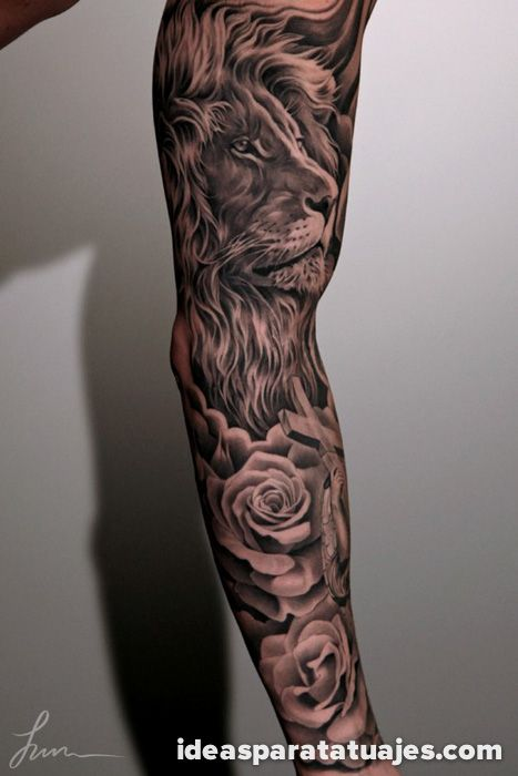 Muchos Hombres Deciden Realizarse Tatuajes De Gran Tamaño En Sus