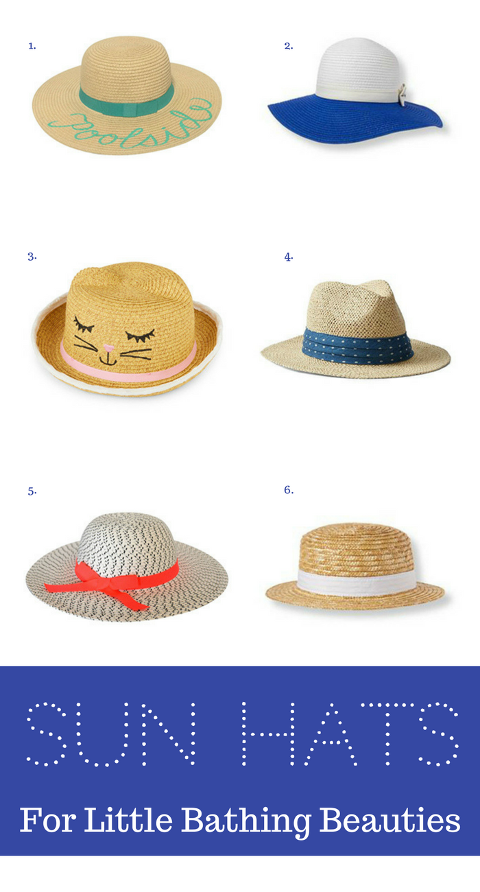 Spring-Break Essential: Sun Hats for Little Vacationers
