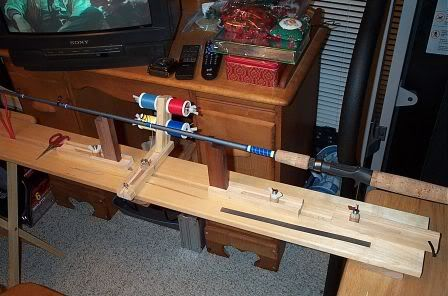 Another Rod Wrapping Jig Fishing Rod Building Custom