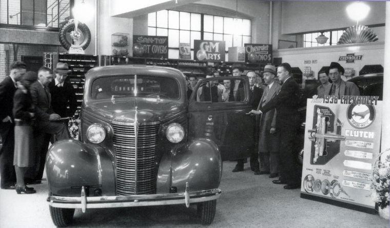 1938 Clements Chevrolet Dealership, Rochester, Minnesota