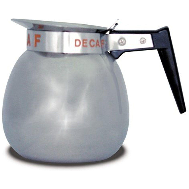 Bunn ss 64 oz 12 cup coffee decanter with orange handle
