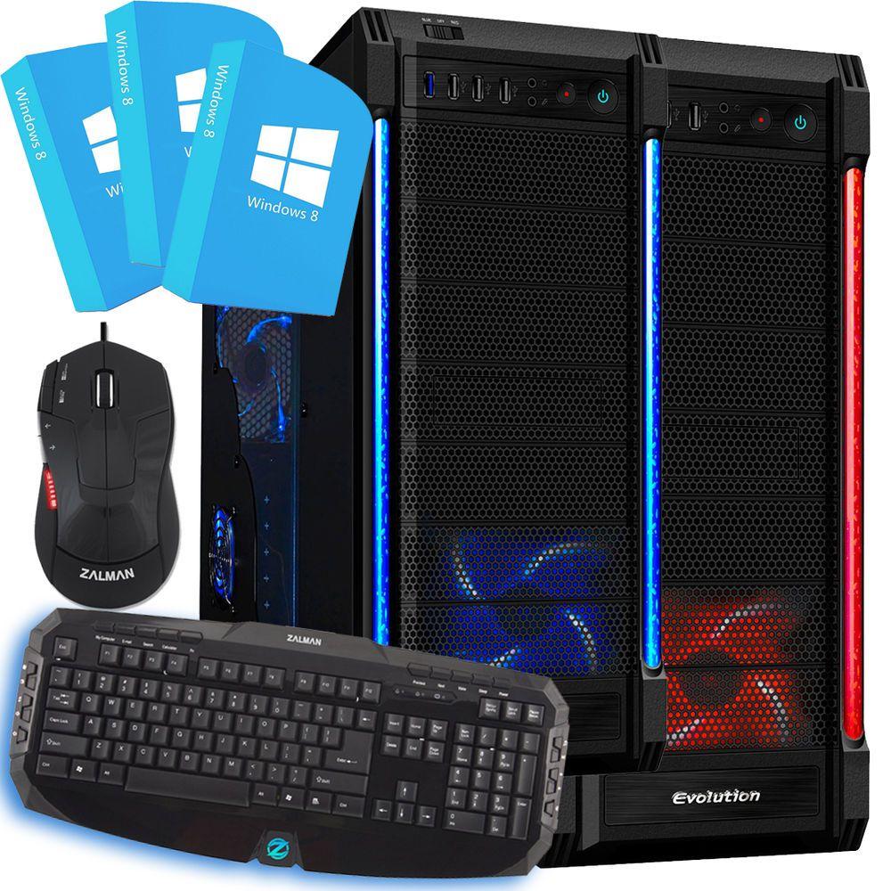 Amd A8 4 2ghz Quad Core 8gb 1tb Fts Gaming Pc Windows 8 64bit