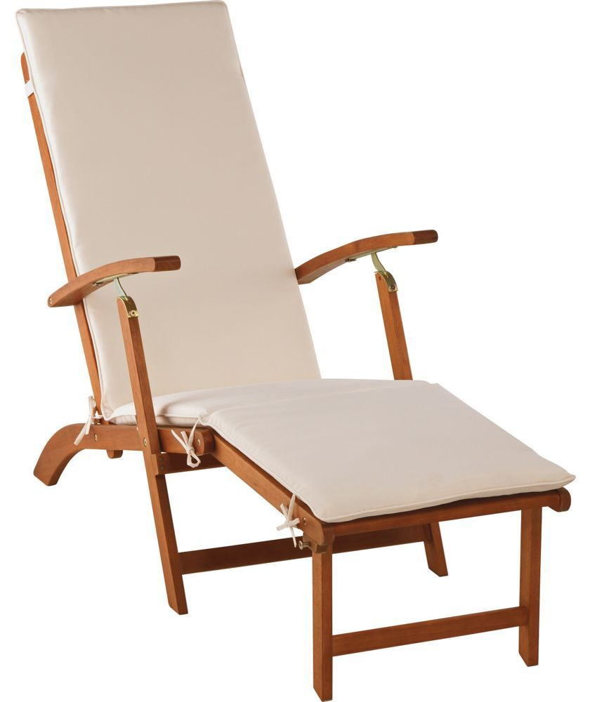 Buy steamer sun lounger with cushion at argos co uk your online shop for garden chairs and sun loungers