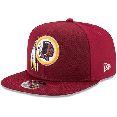 Men s New Era Gold Washington Redskins 2017 Color Rush Kickoff Reverse Team 9FIFTY  Snapback Adjustable Hat e07bb954a