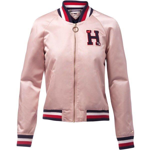 a4e92f8bf Tommy Hilfiger Bridget Varsity Jacket (2.162.025 IDR) ❤ liked on ...