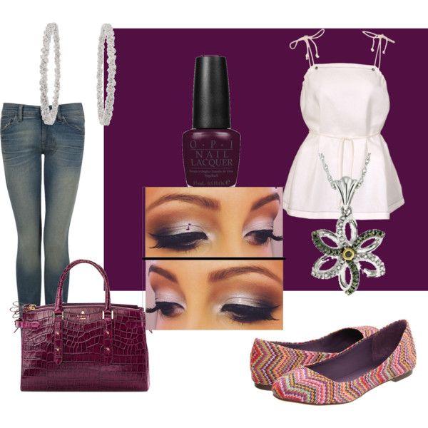 purple!, created by motherofanangel on Polyvore