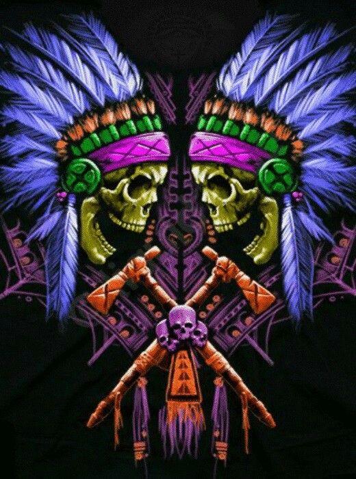 Twin Chiefs w/Vibrant color scheme | Native American ~ N8V ...