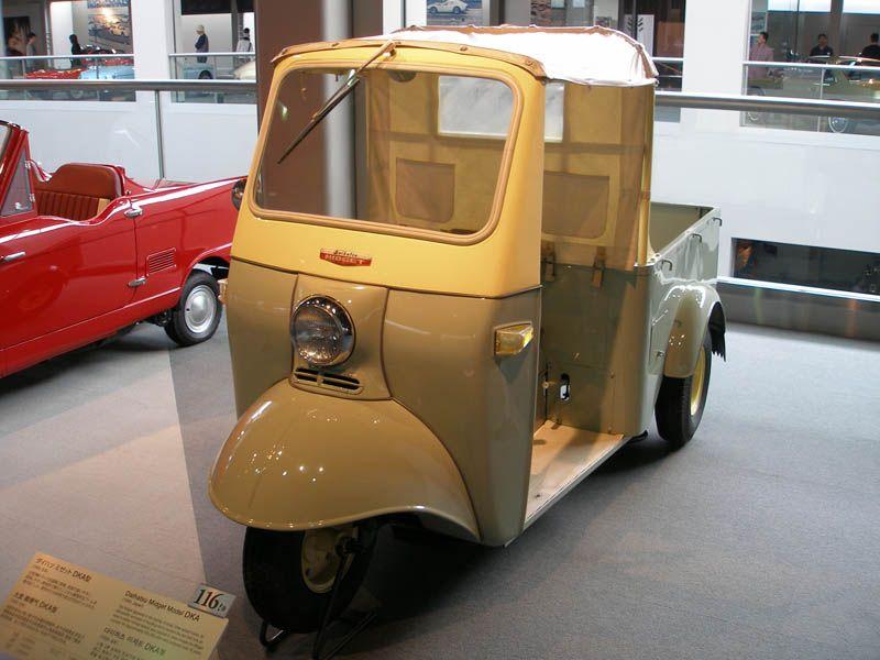 Daihatsu Midget Dka Daihatsu Microcar Small Cars
